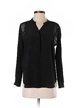 Daniel Rainn Long Sleeve Silk Top Size S