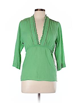 Lauren Moffatt 3/4 Sleeve Blouse Size L