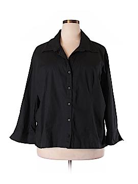 A.L.C. Long Sleeve Button-Down Shirt Size 3X (Plus)