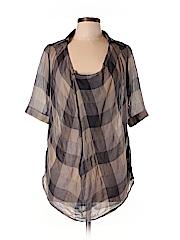 Nicholas K Women Short Sleeve Blouse Size XS