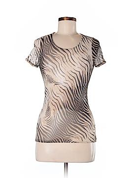 Roberto Cavalli Short Sleeve Blouse Size 42 (IT)