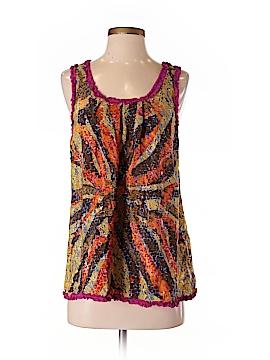 Petticoat Alley Sleeveless Silk Top Size S