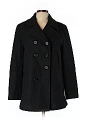 J. Crew Women Wool Coat Size L