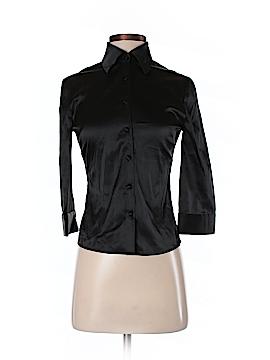 Bisou Bisou 3/4 Sleeve Silk Top Size 2