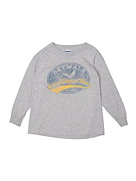 Gildan Long Sleeve T-Shirt Size S (Youth)