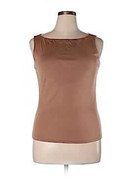 Barneys New York Sleeveless Silk Top Size XL