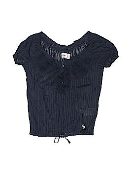 Abercrombie Short Sleeve Blouse Size X-Large (Youth)