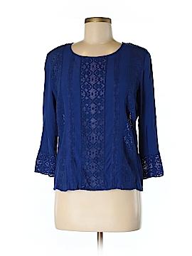 Meadow Rue 3/4 Sleeve Blouse Size M