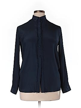 ATM Anthony Thomas Melillo Long Sleeve Silk Top Size 0X (Plus)