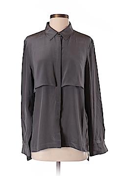 Walter Baker Long Sleeve Silk Top Size S