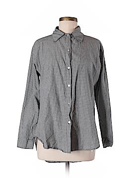 John Eshaya Long Sleeve Button-Down Shirt Size M