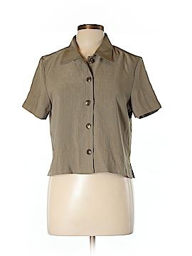 Halmode Petites Short Sleeve Blouse Size 10