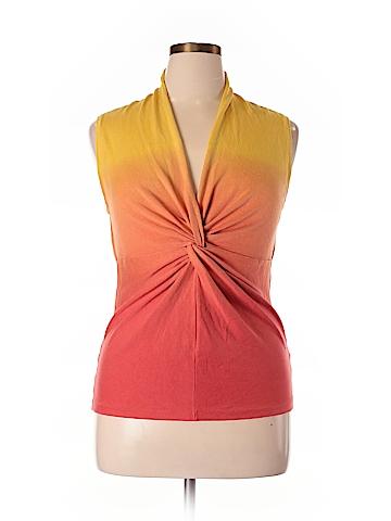 Jones New York Signature Silk Pullover Sweater Size XL