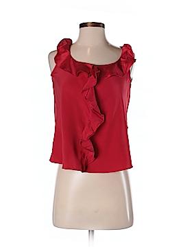 Kenneth Cole New York Sleeveless Silk Top Size 2 (Petite)