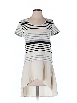 Deletta Women Short Sleeve Blouse Size S