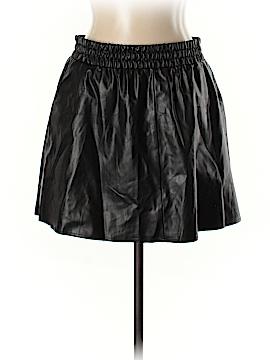 BCBGMAXAZRIA Faux Leather Skirt Size L
