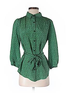 Lie 3/4 Sleeve Silk Top Size 2