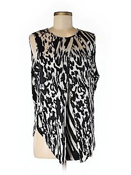 By Malene Birger Sleeveless Silk Top Size 44 (EU)