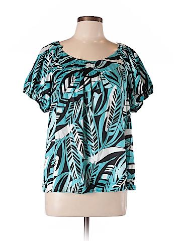 Style&Co Short Sleeve Blouse Size 10