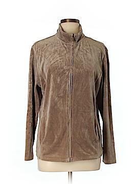 Karen Scott Sport Track Jacket Size L