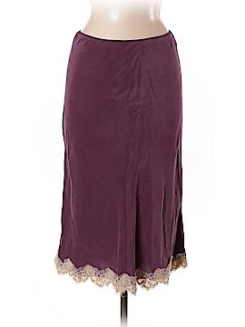 Calypso by Christiane Celle Silk Skirt Size M