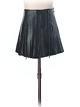 BCBGMAXAZRIA Leather Skirt Size XXS