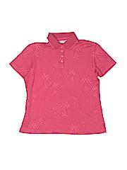 Tommy Bahama Girls Short Sleeve Polo Size 4 - 6