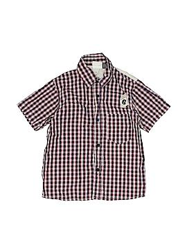 IKKS Short Sleeve Button-Down Shirt Size 4