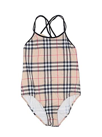 Burberry One Piece Swimsuit Size 10