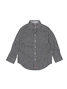 Thomas Dean Long Sleeve Button-Down Shirt Size 5