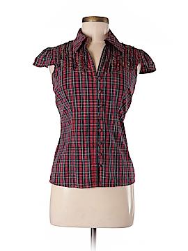 Blanco Collection Short Sleeve Button-Down Shirt Size 36 (EU)