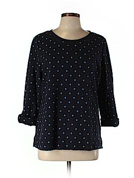 Karen Scott Sport Sweatshirt Size L