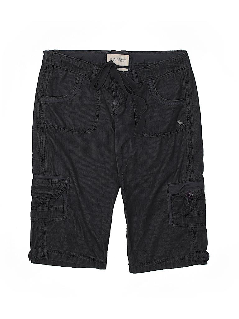 520dd00994 Abercrombie & Fitch 100% Cotton Dark Blue Cargo Shorts Size 0 - 73 ...