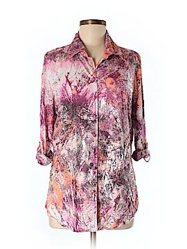 David Cline Long Sleeve Button-Down Shirt Size L