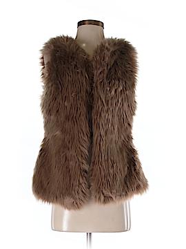 Sabina Faux Fur Vest Size S