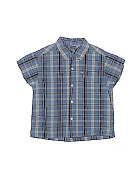 Koala Kids Short Sleeve Button-Down Shirt Size 2T