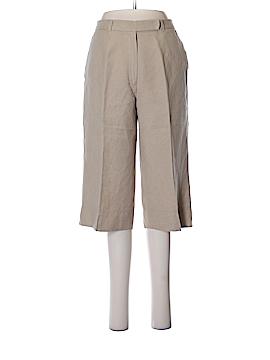AK Anne Klein Linen Pants Size 6 (Petite)