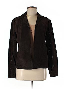 Emanuel Ungaro Liberte Leather Jacket Size 6
