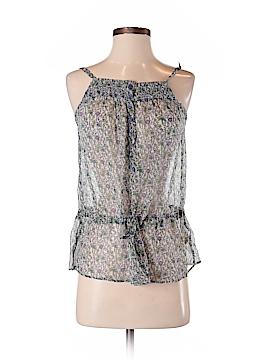 Zara Basic Sleeveless Silk Top Size S