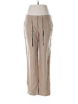Talbots Linen Pants Size 4 Petite (Petite)