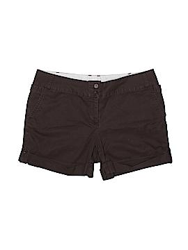 Lands' End Khaki Shorts Size 14