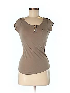 Splash Short Sleeve Henley Size M