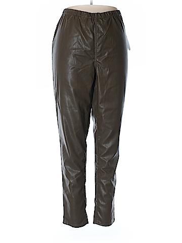 DG^2 by Diane Gilman Faux Leather Pants Size 2X (Plus)