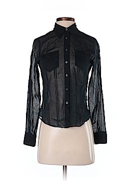 Club Monaco Long Sleeve Button-Down Shirt Size XS