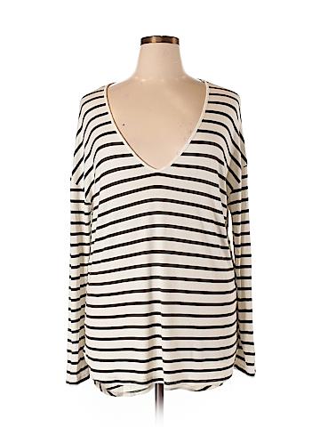 Bordeaux Long Sleeve Top Size XL