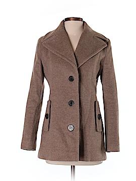 Calvin Klein Women Wool Coat Size 2