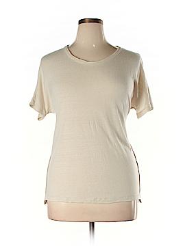 Rivet & Thread Short Sleeve Silk Top Size XL