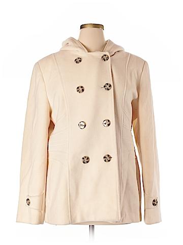 St. John's Bay Wool Coat Size XL