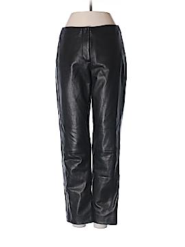 DKNY Leather Pants Size 2