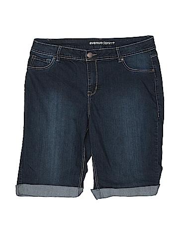 Avenue Denim Shorts Size 16 (Plus)